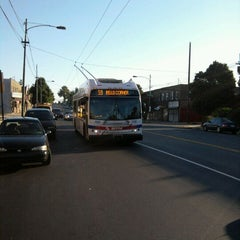 Photo taken at SEPTA: Trolleybus Route 59 by Sandy S. on 9/16/2011