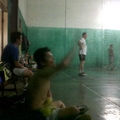 Photo taken at Lapangan Badminton by Yonny T. on 12/27/2011