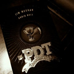 Photo taken at PDT (Please Don't Tell) by Payman B. on 10/17/2011