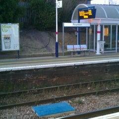 Photo taken at Royston Railway Station (RYS) by Tareq F. on 10/18/2011