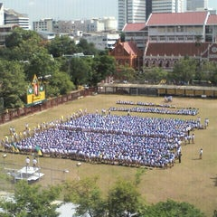 Photo taken at โรงเรียนเทพศิรินทร์ (Debsirin School) by Tachit on 6/25/2012