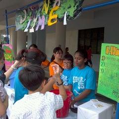 Photo taken at Cedar Girls' Secondary School by Tak Wai C. on 3/3/2012