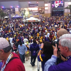 Photo taken at Champions Square by Eric G. on 1/9/2012