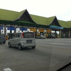 Photo taken at Plaza Tol Batu Tiga by Adiel H. on 3/1/2011