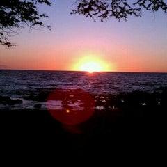 Photo taken at Waialea Beach (Beach 69) by Claudio S. on 11/1/2011