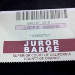 Photo taken at Orange County Superior Court by Samuel P. on 8/23/2012