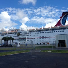 Photo taken at Carnival Ecstasy by Haley S. on 7/16/2012