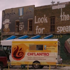 Photo taken at Chilantro BBQ by Enzo M. on 4/14/2012
