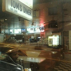 Photo taken at Tom's Diner by Patricia M. on 2/22/2012