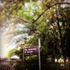Photo taken at University of Georgia by Debra R. on 7/3/2012