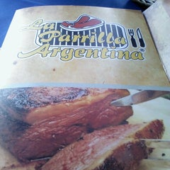 Photo taken at La Parrilla Argentina by BB on 6/24/2012