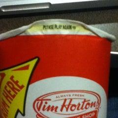 Photo taken at Tim Hortons by Sean H. on 3/22/2012