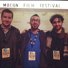 Photo taken at Macon Film Festival Headquarters by Terrell S. on 2/16/2012