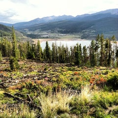 Photo taken at Sapphire Point Overlook by Stacy S. on 8/24/2012