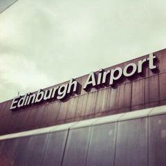 Photo taken at Edinburgh Airport (EDI) by Kevin D. on 4/8/2012