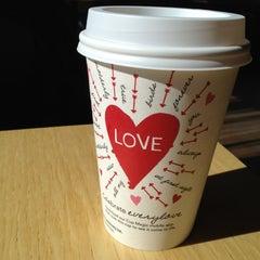 Photo taken at Starbucks by Deb W. on 2/14/2012