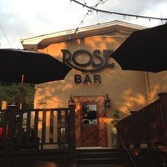 Photo taken at Rose Bar by Lance M. on 6/7/2012