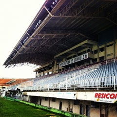 Photo taken at Estádio Arena Joinville by Werner F. on 4/6/2012