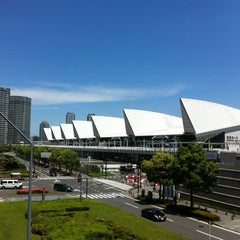 Photo taken at パシフィコ横浜 (PACIFICO YOKOHAMA) by K M. on 5/23/2012