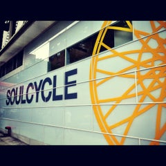 Photo taken at SoulCycle East 83rd by Lydia V. on 6/12/2012