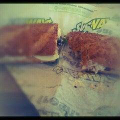 Photo taken at Subway by Kim C. on 2/15/2012