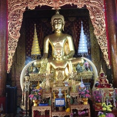 Photo taken at วัดชัยมงคล (Wat Chai Mongkol) by Pimpatiparn S. on 4/15/2012