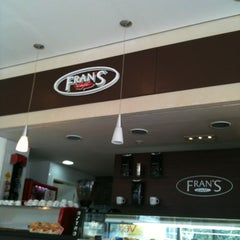 Photo taken at Fran's Café by Thi T. on 3/17/2012