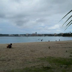 Photo taken at Ypao Beach Park by Patrick Jan B. on 8/6/2012