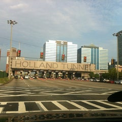 Photo taken at Holland Tunnel Toll Plaza by Chi on 4/15/2012