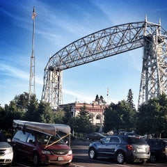 Photo taken at Duluth Lift Bridge by Jason S. on 8/20/2012
