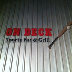 Photo taken at On Deck Sports Bar & Grill by Jeri B. on 6/19/2011
