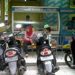 Photo taken at Martabak Bangka Anugrah Koga by Ferlin A. on 12/24/2011