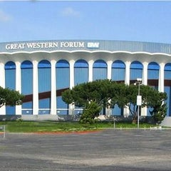 Photo taken at The Great Western Forum by Hashim U. on 11/23/2011