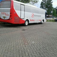 Photo taken at Terminal Feeder Busway Trans BSD by Novika D F. on 1/2/2012