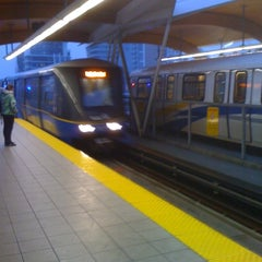Photo taken at Brentwood Town Centre SkyTrain Station by Mark K. on 1/6/2011
