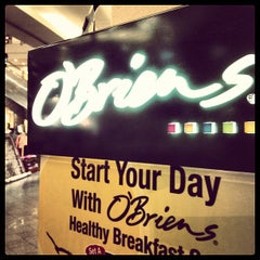 Photo taken at O'Briens Irish Sandwich Bar by sayhuat l. on 5/28/2012