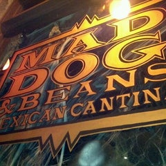 Photo taken at Mad Dog & Beans Mexican Cantina by Joe P. on 10/19/2011