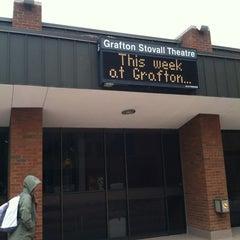 Photo taken at Grafton Stoval Theater by Brendan V. on 4/23/2012