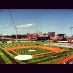 Photo taken at Dozer Park by Bobby M. on 6/24/2012