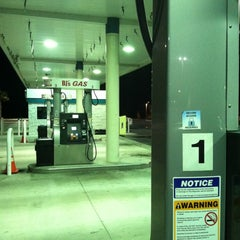 Photo taken at BJ's Gas Station by Dan G. on 3/11/2012