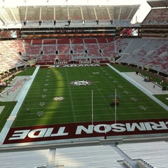 Photo taken at Bryant-Denny Stadium by Mary S. on 9/3/2011