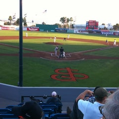 Photo taken at San Jose Municipal Stadium by Jeffrey W. on 8/24/2012