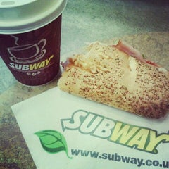 Photo taken at Subway by Claire on 4/15/2012