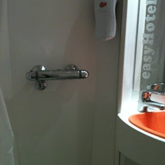 Photo taken at easyHotel Edinburgh by James C. on 5/24/2012