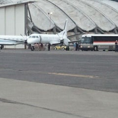 Photo taken at Boeing Field/King County International Airport (BFI) by Michael P. on 9/22/2011