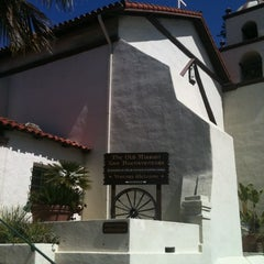 Photo taken at Mission San Buenaventura by Georgina D. on 3/18/2012