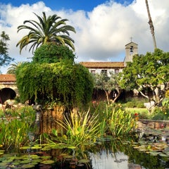 Photo taken at Mission San Juan Capistrano by Stefanie L. on 11/6/2011