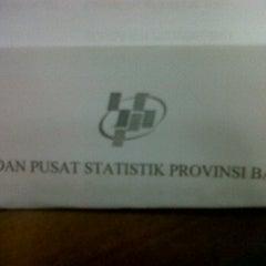 Photo taken at Badan Pusat Statistik Provinsi Bali by Hendra H. on 12/14/2011