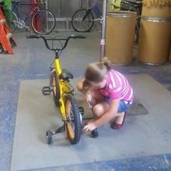 Photo taken at Life Enrichment Center Bike Shoppe by Sherrie R. on 8/9/2011