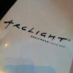 Photo taken at ArcLight Hollywood Cafe & Bar by Holiday Inn Express Hotel & Suites H. on 7/22/2011